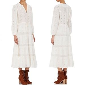 Ulla Johnson x Barneys Clementine Eyelet Dress 10